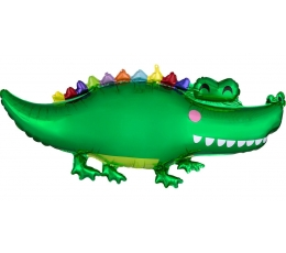 "Forminis balionas ""Krokodilas""(106 x 48 cm)"
