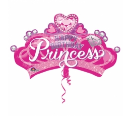"Forminis balionas ""Princesės karūna"" (81x48 cm)"