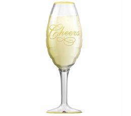 """Forminis balionas """"Šampano taurė"""" (35x97 cm)"""