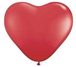 """Forminis balionas """"Raudona širdelė"""" (40 cm)"""