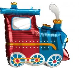 """Forminis balionas """"Traukinukas"""" (63 x 55 cm)"""