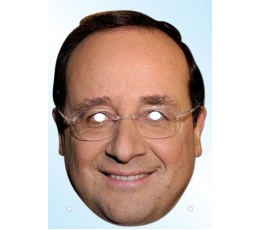 """Foto kaukė """"Francois Hollande"""""""