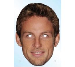 """Foto kaukė """"Jenson Button"""""""