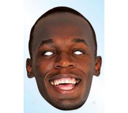 "Foto kaukė ""Usain Bolt"""