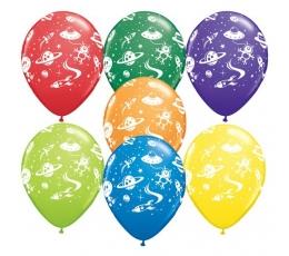 "Guminiai balionai ""Kosmosas"" (25vnt./28cm. Q11)"