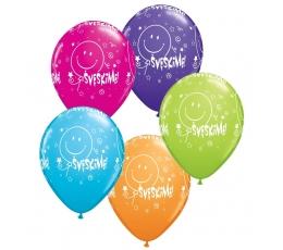 """Guminiai balionai """"Švęskime!"""" (25 vnt./28cm.)"""
