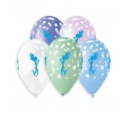 """Guminis balionas """"Undinėlė"""" (33 cm)"""