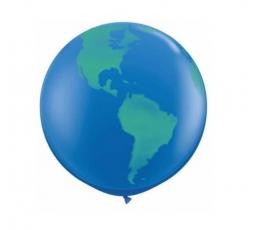 "Guminiai balionai ""Žemė"" (2vnt./78cm. Q30)"