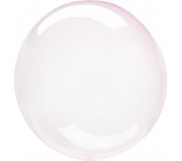 Guminis balionas-clearz, rausvas (40 cm)