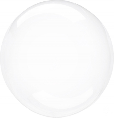 Guminis balionas-clearz, skaidrus (40 cm)