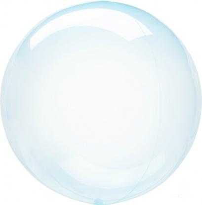 Guminis balionas-clearz, žydras (40 cm)