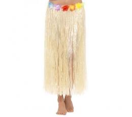 Havajietiškas sijonas su gėlėmis (66 cm)