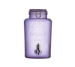 (NUOMA) Indas gėrimams su kraneliu, violetinis