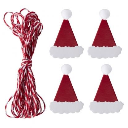 """Juostelė su mediniais segtukais """"Kalėdos"""" (3 m)"""