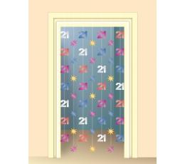 "Kabanti dekoracija ""21"" (198 cm)"