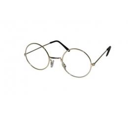 Kalėdų senelio akiniai, auksiniai