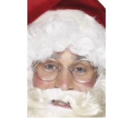 Kalėdų senelio akiniai be stiklų
