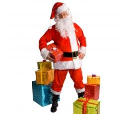 Kalėdų Senelio kostiumas, puošnus