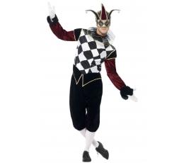 """Karnavalinis kostiumas """"Arlekinas"""" (165-175 cm./L)"""