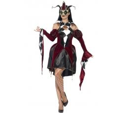 """Karnavalinis kostiumas """"Arlekinė"""" (165 - 175 cm./L)"""