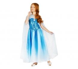 """Karnavalinis kostiumas """"Ledo karalienė"""" (130 - 140 cm.)"""