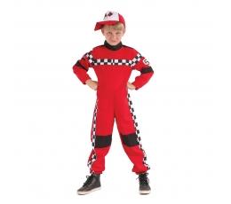"""Karnavalinis kostiumas """"Lenktynininkas"""" (110 - 122 cm.)"""