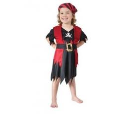 """Karnavalinis kostiumas """"Mažoji piratė"""" (90 - 104 cm.)"""