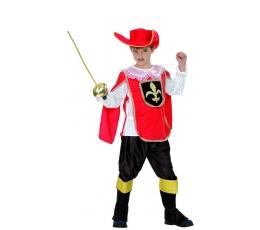 """Karnavalinis kostiumas """"Muškietininkas"""" (120-130 cm.)"""
