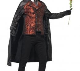"""Karnavalinis kostiumas """"Operos fantomas"""" (Dydis: M) 2"""