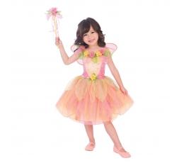 """Karnavalinis kostiumas """"Oranžinė fėja"""" (122 - 128 cm)"""