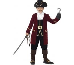 """Karnavalinis kostiumas """"Piratų kapitonas"""" (135-152 cm.)"""