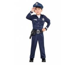 """Karnavalinis kostiumas """"Policininkas"""" (90 - 100 cm.)"""