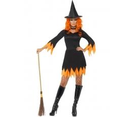 """Karnavalinis kostiumas """"Raganaitė"""" (165-175 cm. /S)"""