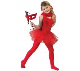 """Kostiumas """"Balerina"""", raudonas  (116-128 cm)"""
