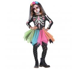 """Karnavalinis kostiumas """"Skeletas"""" (130 - 146 cm.)"""