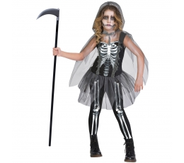 """Karnavalinis kostiumas """"Skeletas"""" (150 - 162 cm.)"""