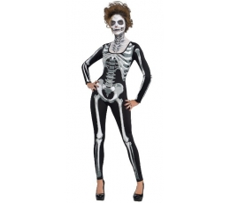 """Karnavalinis kostiumas """"Skeletas"""" (168 - 190 cm.)"""