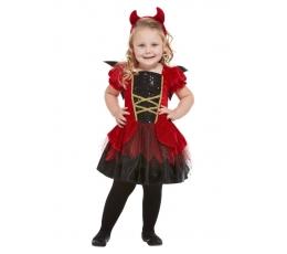 """Karnavalinis kostiumas """"Velniukė"""" (64 - 91 cm.)"""