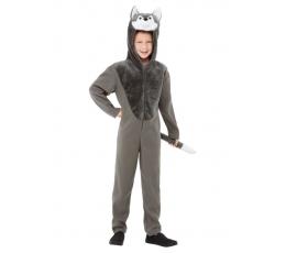 """Karnavalinis kostiumas """"Vilkas"""" (120 - 130 cm.)"""