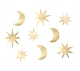 """Karpiniai-dekoracijos """"Žvaigždėtas dangus"""" (9 vnt.)"""