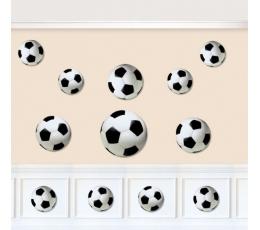 """Karpiniai """"Futbolo kamuoliai"""" (12 vnt. )"""