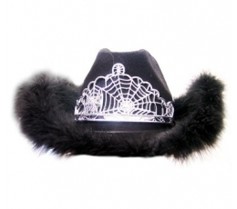 Kaubojaus skrybėlė juoda