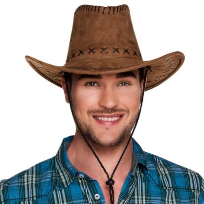 Kaubojaus skrybėlė, ruda