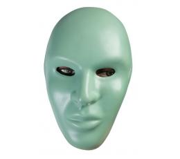 "Kaukė ""Beveidis"", žalia"