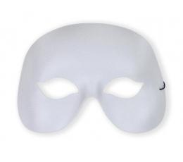 Kaukė - domino, balta
