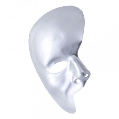 """Kaukė """"Fantomas"""", sidabrinė"""