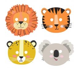 """Kaukės """"Safari gyvūnai"""" (8 vnt.)"""