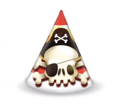 "Kepuraitės ""Piratai"" (6 vnt.)"