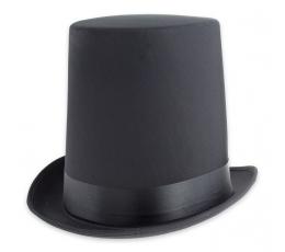 """Kepurė """"Aukštas cilindras"""" / juodas"""