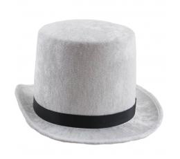 "Kepurė ""Cilindras"" / baltas"